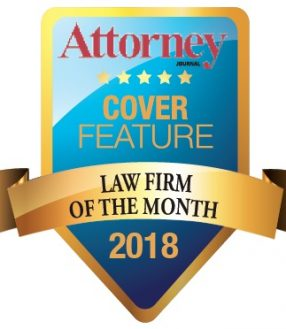 Law Firm of the Month - 2018 Badge